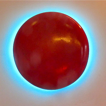 Red Pill Turquoise Spill – Araash Fresco Light Piece