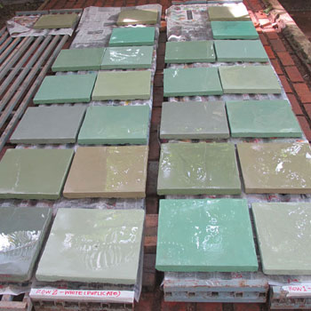 Concrete render samples
