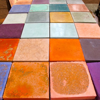 Concrete samples