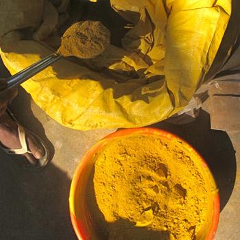 measuring Indian yellow