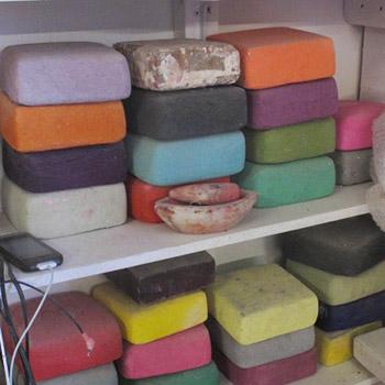 bricks pre polished layers