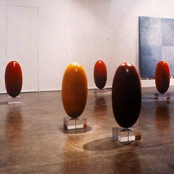 Araash linghams and Araash Blocks – Gallery Installation, London