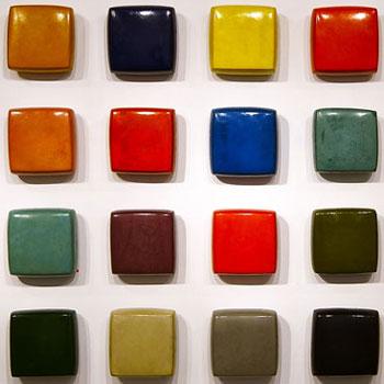 Araash Fresco Bricks – Gallery Installation, London