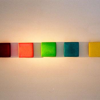 Brick Row – Gallery Installation, Zurich