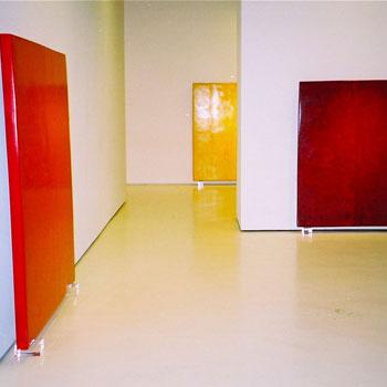 Araash Fresco Blocks – Gallery Installation, New York