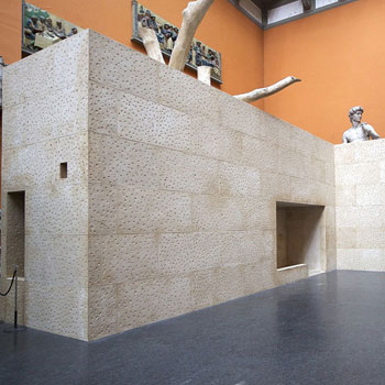 'In-between Architecture' – Installation V & A Museum