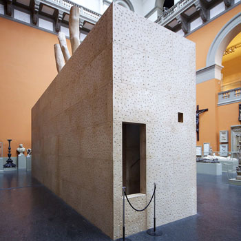 Installation – 'Inbetween Architecture' – Cast Courts, Victoria and albert museum