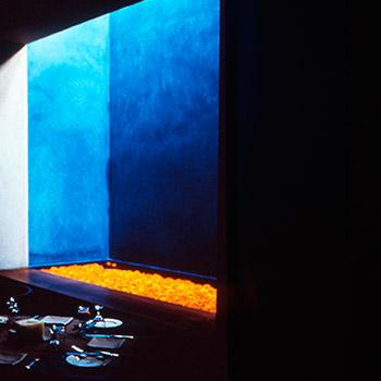 Blue Araash Fresco – Indigo Restaurant, Mumbai