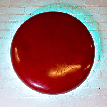 'Red pill blue spill' Araash light piece