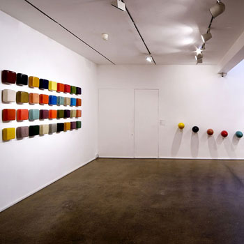 Araash Fresco Linghams and Brick Spectrum – Gallery Installation, London