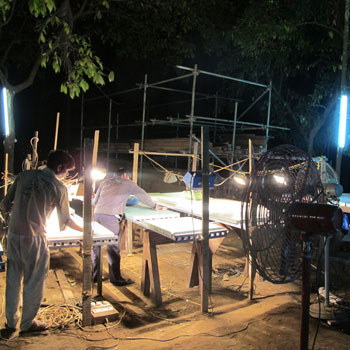 Working at night – Ali Bagh
