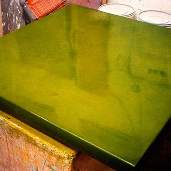 Limeish Grass Green Araash Block