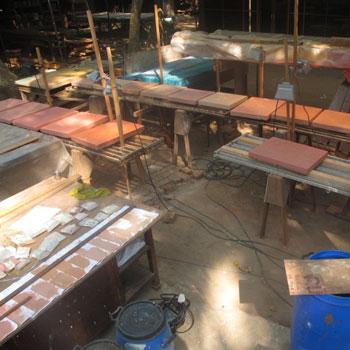Render on concrete samples