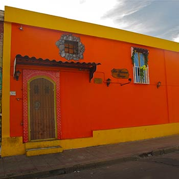 Orange house – Santiago, Chile