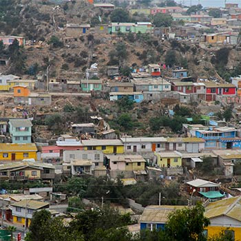 Coloured Housing – Valparaiso Region, Central Chile