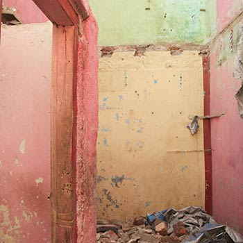 Demolished House – Western India (by Mitul)