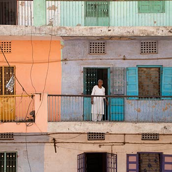 Apartment block – Western India (by Mitul)