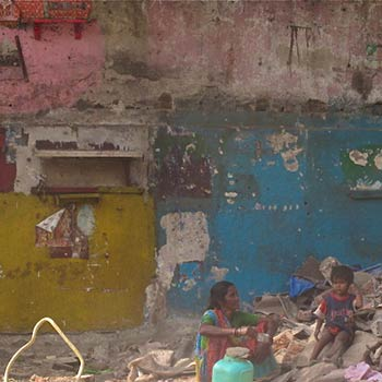 Whats left, Broken Home series – Byculla, Mumbai
