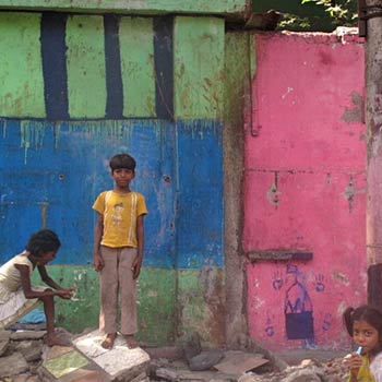 Last imprint, demolished Home – Byculla, Mumbai