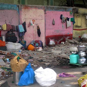 Whats left, broken Homes – Byculla, Mumbai