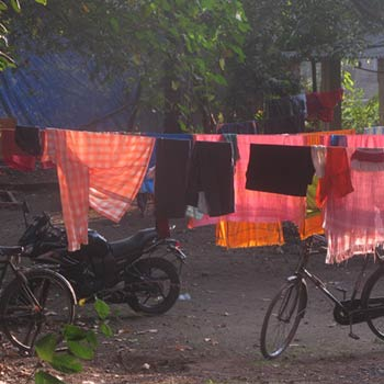 Dhobi Wallah, Washing – Kerala, South India