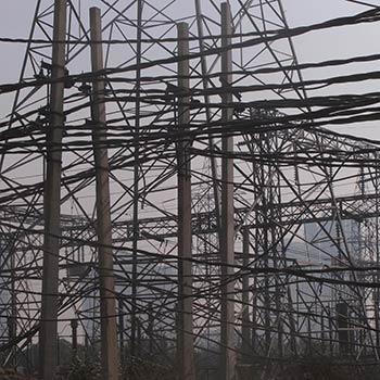 Telephone Wires – Gurgaon, North India