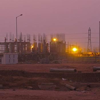 Building Site – Gurgaon, North India