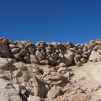 Dry stone wall – Yemen