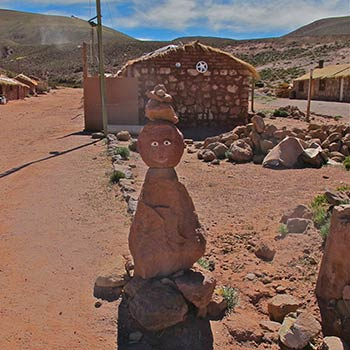 Wayside shrine – Atacama desert, Northern Chile