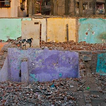 Broken housing – Western India
