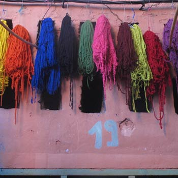 Dyeing Yarn – Marrakesh, Morocco