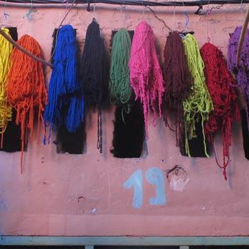 Dyeing Yarn – Marrakesh, Morocco