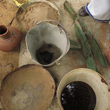 Jaggery, Cactus, and Brickdust for Lime/Brick mortar – Kerala, South India