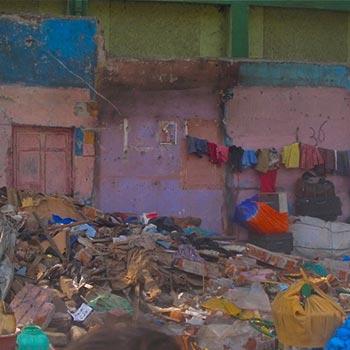 Whats left, Broken Homes series – Byculla, Mumbai