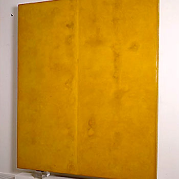 'Born Yellow' Araash Fresco – Gallery Installation, New York