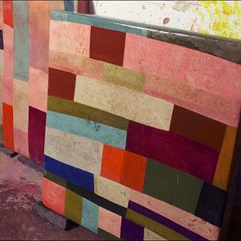 Detail Patchwork Fresco