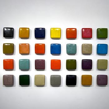Brick Spectrum in Araash – Gallery Installation, New York
