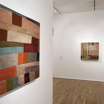 Patchwork Araash Frescos – Gallery Installation, London