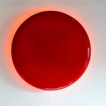 Deep Rose Madder Pill – Cadmium Orange Spill