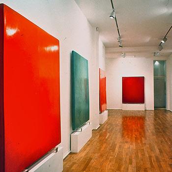 Araash Fresco Blocks – Gallery Installation, London