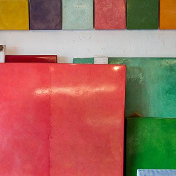 Detail, Fresco Blocks