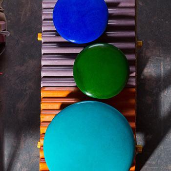 Fresco Discs, and Corrugated Concrete