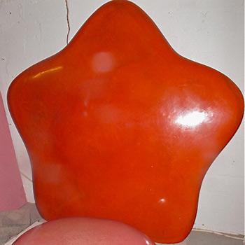 Cadmium Orange Fresco Flower