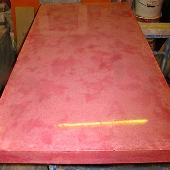 Rose Madder Light – Concrete Table