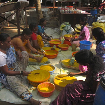 Grinding colour for Ahmedabad site in Gujerat, Western India
