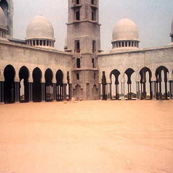 Sheikh Zayed Mosque, Abu Dhabi, UAE – (early stages)
