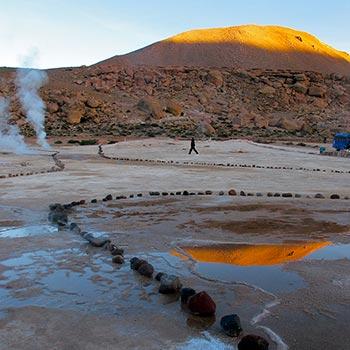 Geysers, Atacama Desert, northern Chile