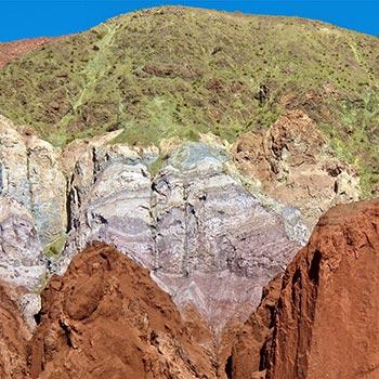 Arco Iris Valley, Atacama Desert, Northern Chile
