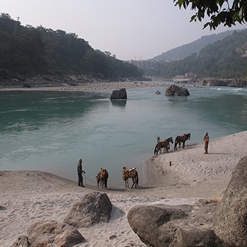 The Ganges, Rishikesh