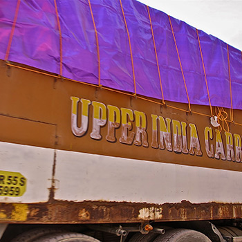 Indian Public Carrier (Lorry) – Rishikesh, Northern India